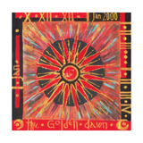1st Jan, the Golden Dawn Giclee Print by Sabira Manek