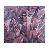 Downtown Manhattan Hailstorm, 1995 Giclee Print by Charlotte Johnson Wahl