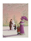 The Snowman Giclee Print by Peter Szumowski