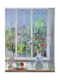 Moonlit Flowers, 1991 Giclee Print by Timothy Easton