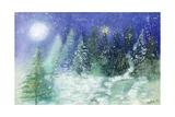 Silent Night, 1995 Giclee Print by Sophia Elliot
