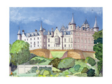 Dunrobin Castle, 1996 Giclee Print by David Herbert
