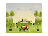The Garden Party Giclee Print by Mark Baring