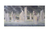The Callanish Legend, Isle of Lewis, 1991 Giclee Print by Evangeline Dickson