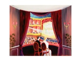 Night at the Ballet, 1984 Giclee Print by Mark Baring