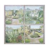 Urn Garden (Glyndebourne) 1998 Giclee Print by Ariel Luke