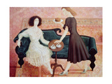 Coffee Morning, 1993 Giclee Print by Patricia O'Brien