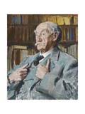 Portrait of Thomas Hardy (1840-1928), 1923 Giclee Print by Augustus Edwin John