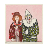 Clowns II Giclee Print by Gillian Lawson