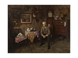 Why War 1938 Giclee Print by Charles Spencelayh
