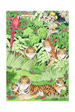 Tiger Jungle Giclee Print by Suzanne Bailey