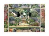 Dulwich Village Garden, 1995 Giclee Print by Ariel Luke