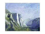 El Capitan, Yosemite National Park, 1993 Giclee Print by Patricia Espir