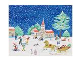Christmas Joy, 1997 Giclee Print by Gordana Delosevic