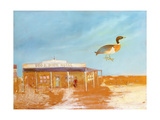 Dog and Duck Hotel Giclee Print by Sir Sidney Nolan