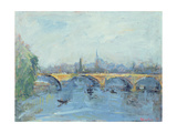 The Serpentine Bridge, London, 1996 Giclee Print by Patricia Espir