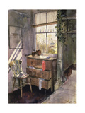 Anna's Bedroom Giclee Print by John Lidzey