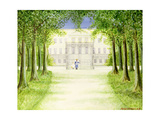French Chateau, 1982 Giclee Print by Mark Baring