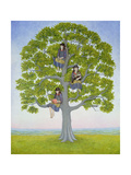 The Tree Giclee Print by  Ditz