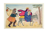 Flight into Egypt IV Giclee Print by Gillian Lawson
