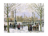 View of Westminster Giclee Print by John Sutton