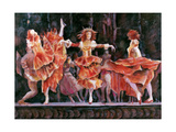 Scene from Romeo and Juliet, Royal Ballet, Covent Garden Giclee Print by Gareth Lloyd Ball