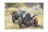 The Green Bentley at Althorp, 1994 Giclee Print by Peter Miller