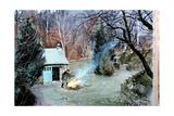 Lakeland Bonfire, 1996 Giclee Print by John Cooke