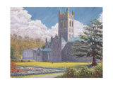 Early Spring, Buckfast Abbey, 2001 Giclee Print by Anthony Rule