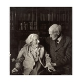 Gilbert Murray (1866-1957) with Lady Mary Howard Photographic Print by Lotte Meitner-Graf