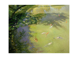 Featherplay Giclee Print by Timothy Easton