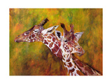 Giraffe, 1997 Giclee Print by Odile Kidd
