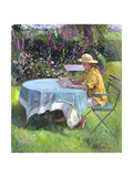 The Morning Read, 1992 Giclee Print by Timothy Easton