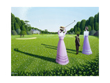 The Fairway, 1996 Giclee Print by Peter Szumowski