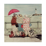 At the Seaside Giclee Print by Gillian Lawson
