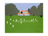 Cricket Match Giclee Print by Micaela Antohi