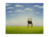 The Chair Cat Giclee Print by  Ditz