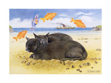 Fish Dreams, 1997 Giclee Print by E.B. Watts