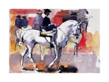 Side-Saddle at the Feria De Sevilla, 1998 Giclee Print by Mark Adlington