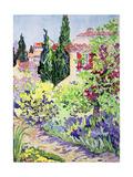 Garden at Vaison Giclee Print by Julia Gibson