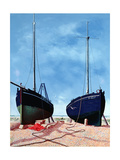 Whitstable Oystermen, 1948 Giclee Print by Tristram Paul Hillier