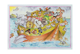 Noah's Crazy Ark, 1999 Giclee Print by Maylee Christie