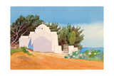 Greek Church Giclee Print by Robert Tyndall