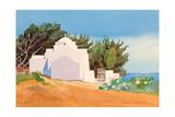 Greek Church Giclee Print by Robert Tyndall