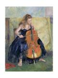 The Cello Player, 1995 Giclee Print by Karen Armitage