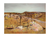 Abandoned Mine, 1948 Giclee Print by Sir Sidney Nolan