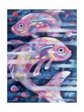 Fishstream Giclee Print by Sarah Porter