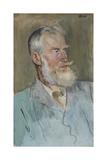 Portrait of George Bernard Shaw (1856-1950), 1915 Giclee Print by Augustus Edwin John