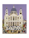St. Paul's Cathedral Giclee Print by William Cooper
