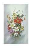 Christmas Bouquet Giclee Print by Albert Williams
